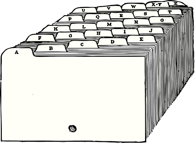 rozdělovač karet