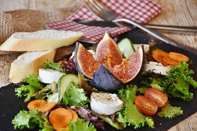 salát s fíky