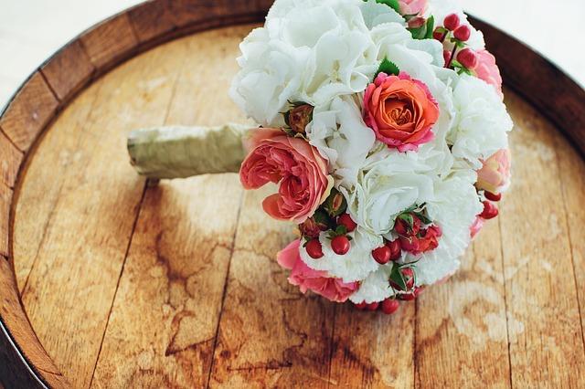 kytka na svatbu