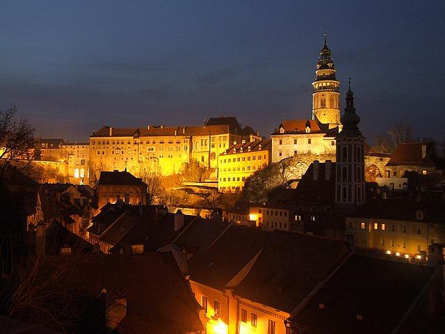 český krumlov hrad