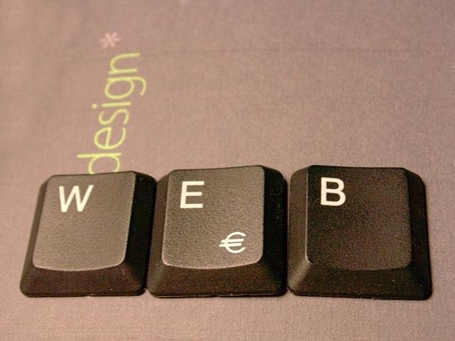 Znázornění web designu